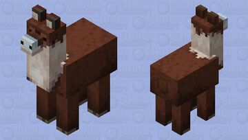 jolly llama without clothing (minecraft earth) Minecraft Mob Skin