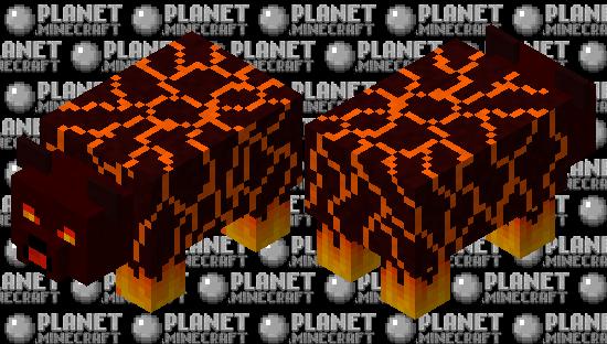 Magma Panda Minecraft Skin
