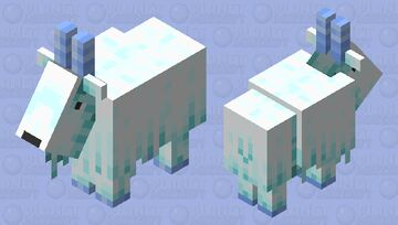 The Ice Goat Minecraft Mob Skin