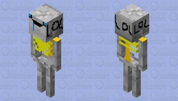 derpy skeleton Minecraft Mob Skin