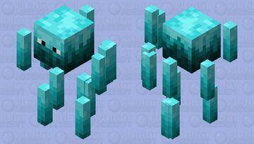 Soul Blaze Minecraft Mob Skin
