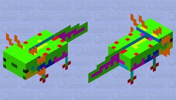 Neolotl Minecraft Mob Skin