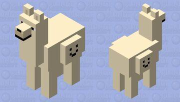 Wolf Llama Minecraft Mob Skin