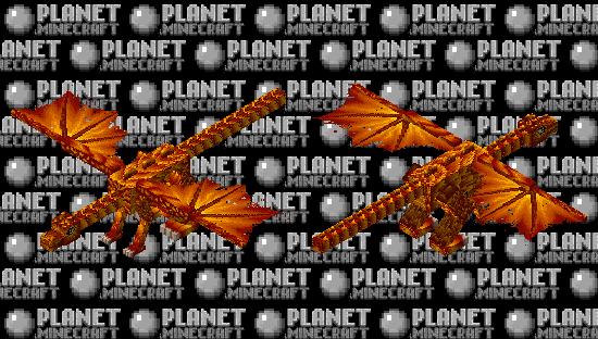 Fireball baby dragon Minecraft Skin