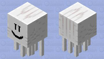 Chill ghast Minecraft Mob Skin