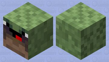 New Noob Jungle Slime Skin Minecraft Mob Skin