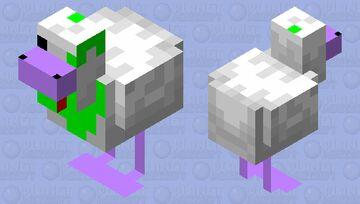 Gem Chicken ( Amethyst and Emerald Variant ) Minecraft Mob Skin