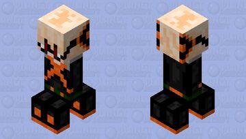 bakugou creeper Minecraft Mob Skin