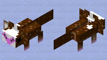 Buckolotl Minecraft Mob Skin