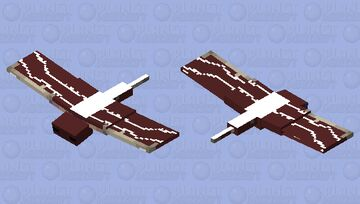 That's eagle which is hunting you Minecraft Mob Skin