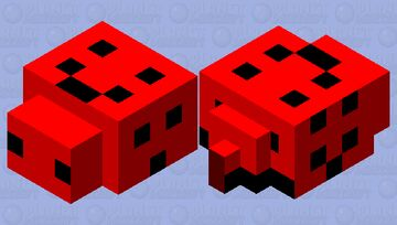 I have faces endermite Minecraft Mob Skin