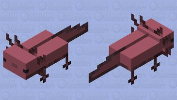Smoothxolotl Minecraft Mob Skin