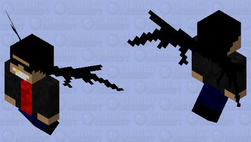 Guy With Wings Minecraft Mob Skin