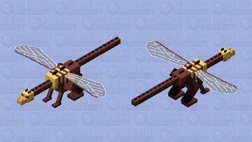 Bee Dragon IMPROVED Minecraft Mob Skin
