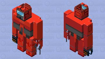 Tordbot - friday night funkin vs. tord mod (original tordbot is form eddsworld episode the end part 2) Minecraft Mob Skin
