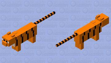 tiger (Fixed) Minecraft Mob Skin