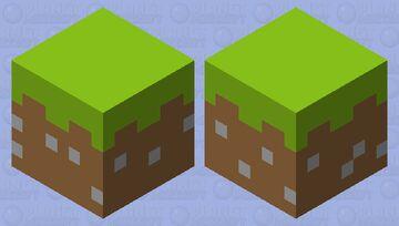 grass xD Minecraft Mob Skin