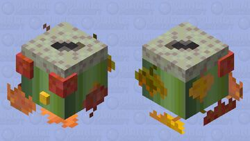 Autumn-Time Slime Minecraft Mob Skin