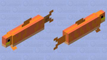 pumpkin fish Minecraft Mob Skin