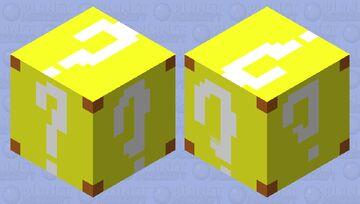 Mario power up block Minecraft Mob Skin