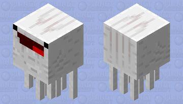 Derpy Ghast Minecraft Mob Skin