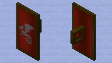 Dragon Sq Shield | OSRS Minecraft Mob Skin