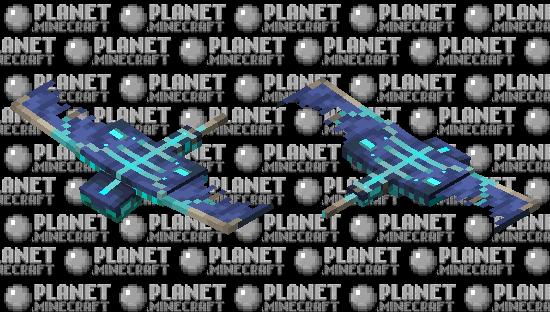 Glow Infected Phantom Minecraft Skin