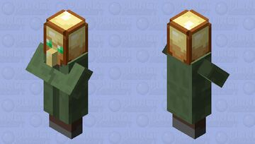 villager of undying Minecraft Mob Skin