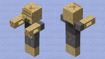 Infected (A51) Minecraft Mob Skin