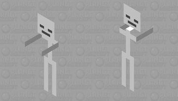 melee stick man Minecraft Mob Skin
