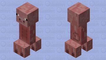 Piper (Pig Creeper) Minecraft Mob Skin