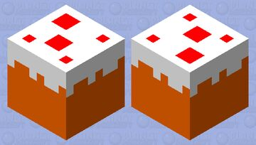 What A Bouncing Cake Looks Like: Minecraft Mob Skin