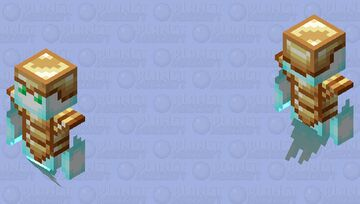 soul / totem or undying armor / vex Minecraft Mob Skin