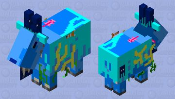 ocean goat Minecraft Mob Skin