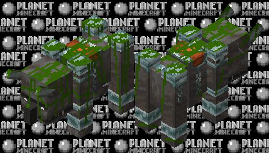 Old Ravager statue Minecraft Skin