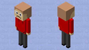 Tord (Friday night funkin) Minecraft Mob Skin