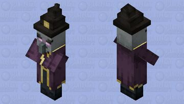 The Witch Illager (Retexture) (Not Variant) Minecraft Mob Skin