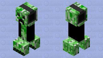 Dripp Gaming Creeper Minecraft Mob Skin