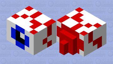 weird crawling eyball thing Minecraft Mob Skin