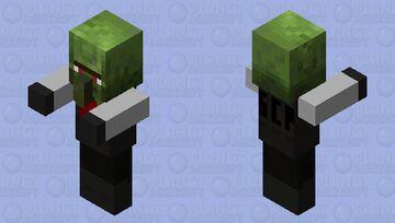 SCP-049-2 / SCP- 008 (Guard) Minecraft Mob Skin