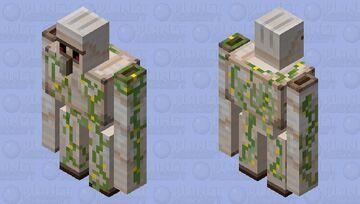 More Vines On The Iron Golem (Overgrolem) Minecraft Mob Skin