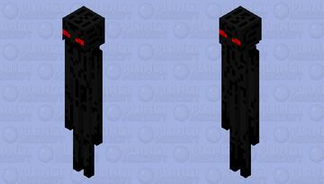 Enderman with teeth Minecraft Mob Skin