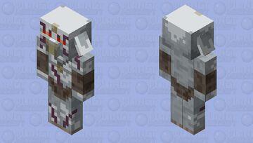 Silver Bokoblin (Breath Of The Wild) Minecraft Mob Skin
