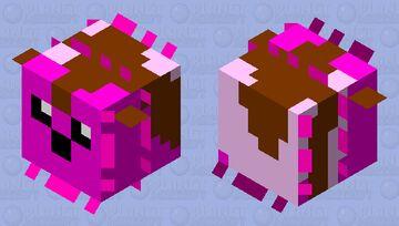 Cute Happy Pufferfish (large) 2.0 Minecraft Mob Skin