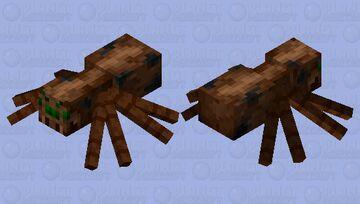 Cliff spider (biome swap) Minecraft Mob Skin