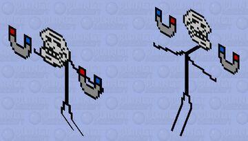 Trollface Boss Minecraft Mob Skin