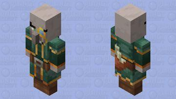 Cartographer Cillager(Re Texturing) Minecraft Mob Skin