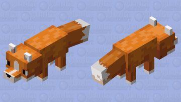 Cuter Fox! Minecraft Mob Skin