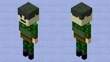 Military Officer (Skeleton Skin) Minecraft Mob Skin