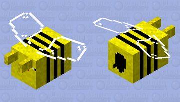 Derpy Bee Minecraft Mob Skin